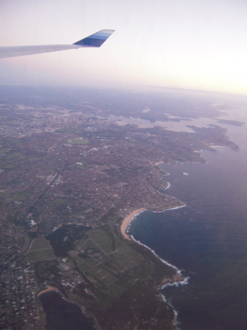 Approaching Landing in Melbourne!
